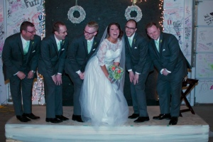 Silly Brittany and Groomsmen